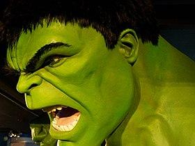 Visage de Hulk