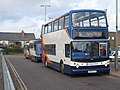 Dennis Trident 2 bus with an Alexander ALX400 body at Bicester, Oxfordshire.jpg