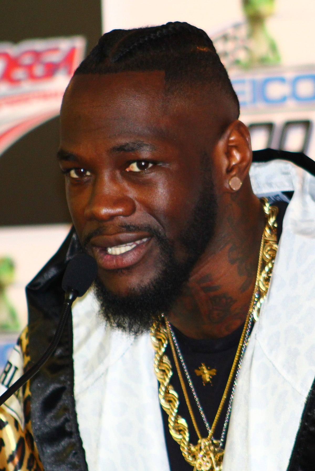 Ex-boxing champion; Wilder, is from Edo state