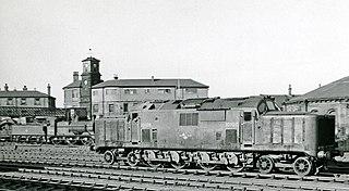 British Rail 10100 Early diesel prototype