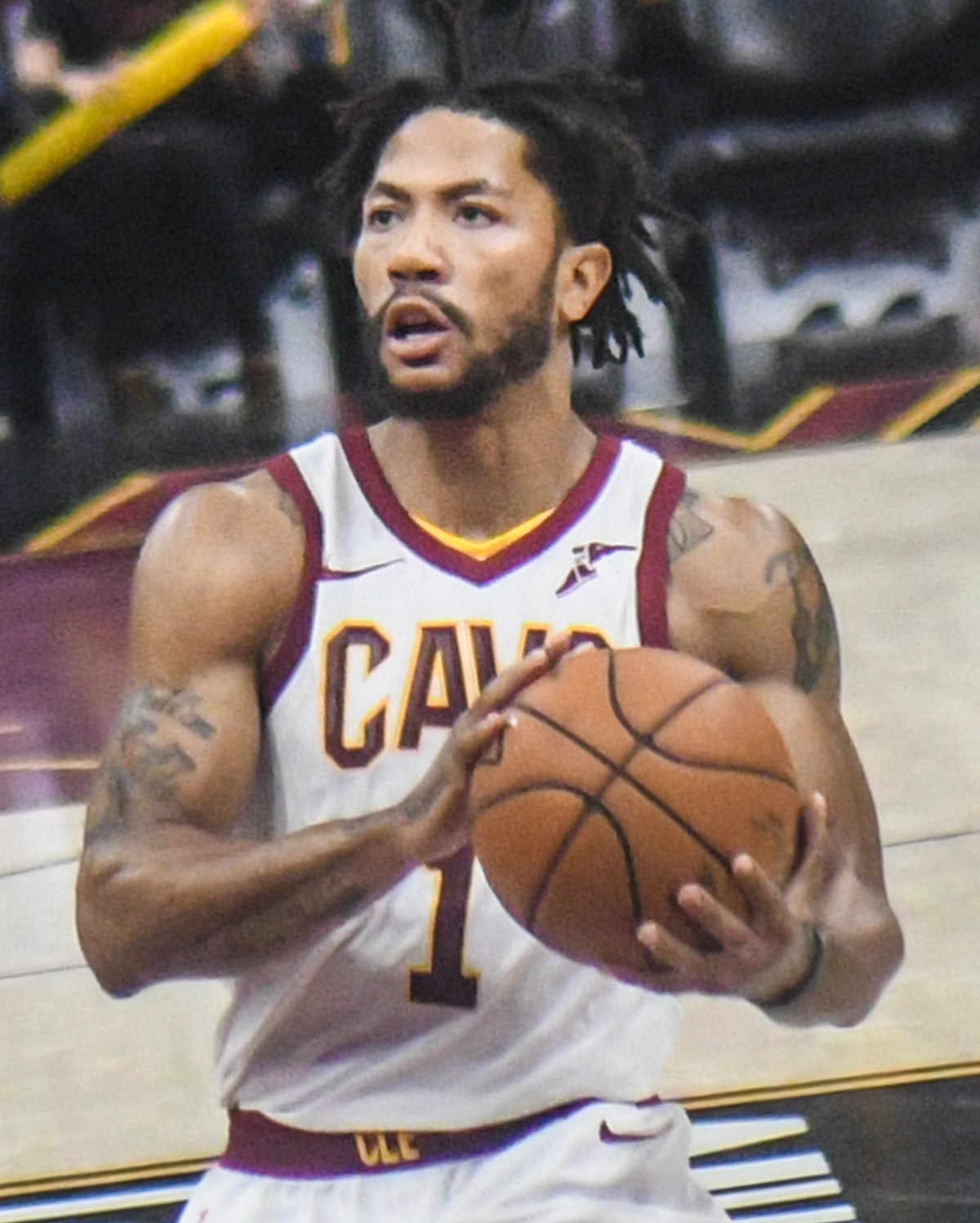 Derrick rose wikipedia - Derrick rose cavs wallpaper ...
