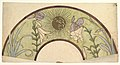 Design for a Fan with Sunburst, Lilies, and Irises MET DP819952.jpg
