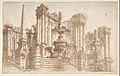 Design for a Stage Set- Semi-Circular Architectural Ruins, Fountains, and an Obelisk. MET DP808018.jpg