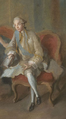 Detail of Louis Jean Marie, Duke of Penthièvre from a portrait by Jean-Baptiste Charpentier in circa 1767 held at Sceaux.png
