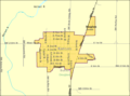 Detailed map of Douglass, Kansas.png
