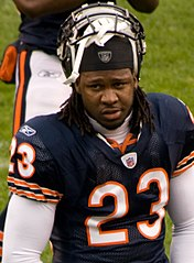 Hester w barwach Chicago Bears