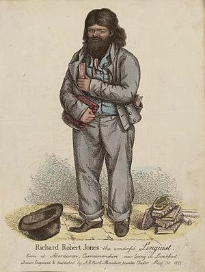 Dic Aberdaron - Richard Robert Jones (Dic Aberdaron), 1823