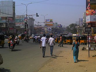 Dilsukhnagar - The Busy Main Road of Dilshukhnagar