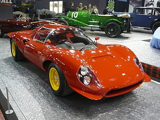 Dino (automobile) - 1967 Dino 206 SP, front view