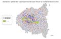 Distribution spatiale des super et hypermarchés dans Paris et sa proche banlieue en 2016.png