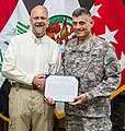 District employee is recognized in Iraq (6990629700).jpg