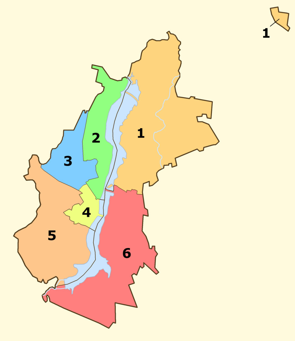 Districts of voronezh