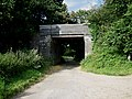 Disused railway bridge south of Briston - geograph.org.uk - 515849.jpg