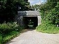Disused railway bridge south of Briston - geograph.org.uk - 515849.jpg