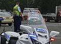 Diverting traffic around the fire - Flickr - Highway Patrol Images.jpg