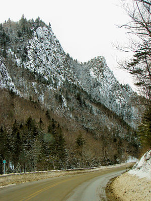 New Hampshire Route 26 - Image: Dixville Notch SP