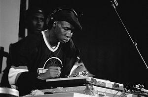 Grandmaster Flash performing in 1999