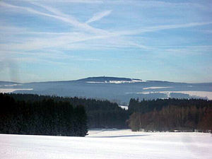 Franconian Forest - View to Döbraberg