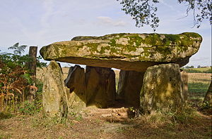 Berneuil, Haute-Vienne - The dolmen of Berneuil
