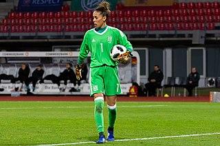 Dolores Gallardo Spanish soccer player and goalkeeper