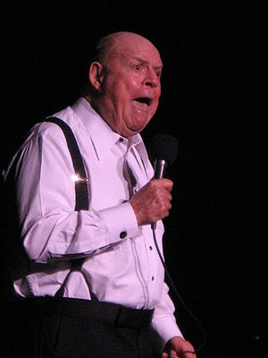 Don Rickles - Rickles on stage at the Tropicana Hotel and Casino in Atlantic City on January 12, 2008