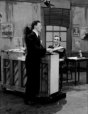 Sidney Miller (actor) - Sid Miller (at the piano) performing with Donald O'Connor on The Colgate Comedy Hour (1952)