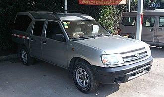 Dongfeng Rich - Image: Dongfeng Rich SUV China 2013 03 03