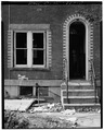 Door-Window Detail, East Front - 77 Dayton Avenue (Apartment Building), 77 Dayton Avenue, Passaic, Passaic County, NJ HABS NJ,16-PASA,5-5.tif