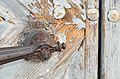 Door handle with lion head, rectory St. Pankraz, Upper Austria - detail 2.jpg