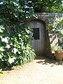 Doorway at the rear of Petersfield Physic Garden - geograph.org.uk - 834958.jpg