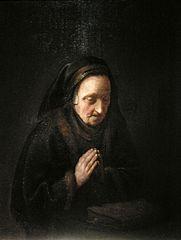 Rembrandt's mother