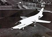 Douglas D-558-II Skyrocket front upper view