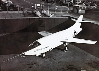 Douglas D-558-2 Skyrocket - The D-558-2 undergoing tests