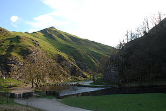 Dovedale - Thorpe Cloud and Stepping Stones, Dovedale