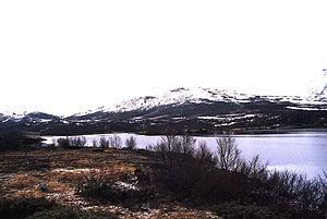 Dovrefjell–Sunndalsfjella National Park - Image: Dovrefjell lake in the late fall