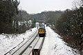 Down train approaching Balcombe - geograph.org.uk - 1660366.jpg