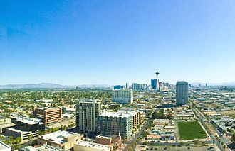 Las Vegas - Image: Downtown Las Vegas