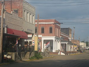 Downtown Arcadia, Louisiana