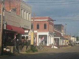 Arcadia, Louisiana - Downtown Arcadia, Louisiana