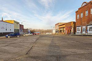 Carson, Iowa - Downtown Carson, Iowa