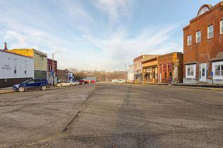 Carson, Iowa City in Iowa, United States