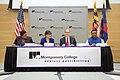 Dr. DeRionne Pollard, Penny Pritzker, Thomas Perez, and Dr. Sanjay Rai, 2014.jpg