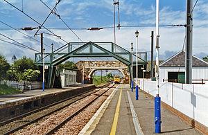 Drem railway station - Image: Drem station geograph 3430659 by Ben Brooksbank