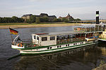 Dresden - One of the many paddle steamers on the river Elbe - 2215.jpg