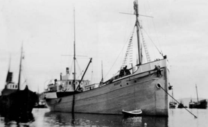 Louise Arner Boyd - Boyd chartered the Hobby, a supply ship of Tromsø for her trips in 1926 and 1928