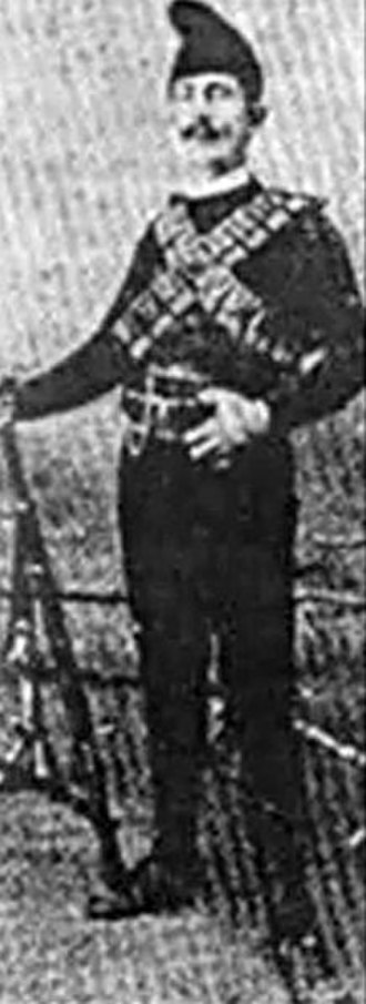 Dušan Dimitrijević - Image: Dušan Dimitrijević Dule in Chetnik gear