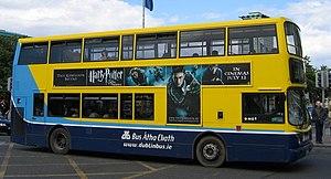 A Dublin Bus Alexander ALX400 in Dublin