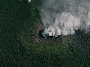 Planet Labs - Image: Dukono, Indonesia, 2016 08 24 by Planet Labs