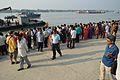 Durga Idol Immersion Gathering - Baja Kadamtala Ghat - Kolkata 2012-10-24 1624.JPG