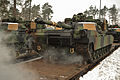 EAS M1A2s arrive in Grafenwoehr (12234463203).jpg